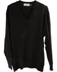 Balmain Pull laine mélangée noir