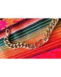 Dior Bracelet métal doré - Métallisé