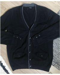 The Kooples Gilet, cardigan coton noir