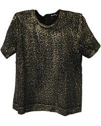 Bottega Veneta Top, tee-shirt 75%wool,25%nylon autre - Noir