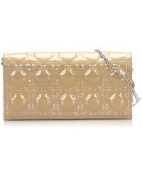 Dior Portefeuille patent leather autre - Neutre