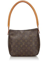 Louis Vuitton Sac en bandoulière en cuir monogram canvas autre - Marron