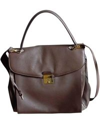 Marc Jacobs - Sac XL en cuir cuir beige - Lyst
