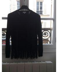 Claudie Pierlot - Pull viscose noir - Lyst