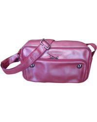 Longchamp - Sac en bandoulière en cuir cuir irisé rouge - Lyst