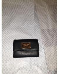 Michael Kors Porte-monnaie cuir noir