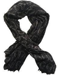 Zadig & Voltaire Foulard laine mélangée noir
