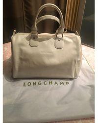 Longchamp - Sac à main en cuir cuir verni autre - Lyst