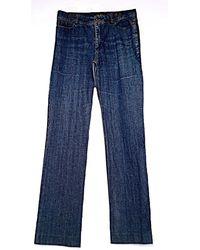 Gerard Darel Jeans droit denim, jean bleu
