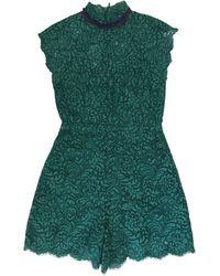 Sandro Combishort coton vert