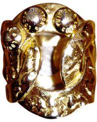 Louis Vuitton Bague métal doré - Métallisé