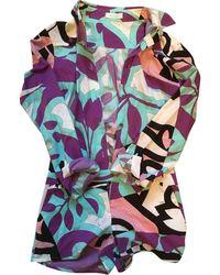 Emilio Pucci Combishort coton multicolore