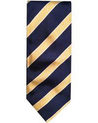 Balmain - Cravate soie multicolore - Lyst