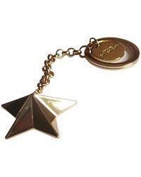 Givenchy Porte-clés métal doré doré - Métallisé