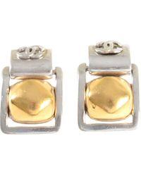 Chanel Boucles d'oreille métal autre - Métallisé