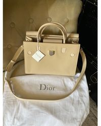 Dior - Sac à main en cuir cuir EVER beige - Lyst
