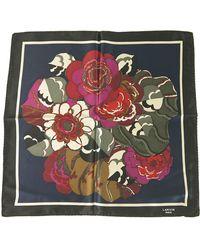 Lanvin Foulard soie multicolore