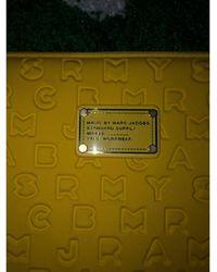 Marc By Marc Jacobs Pochette synthétique jaune - Vert