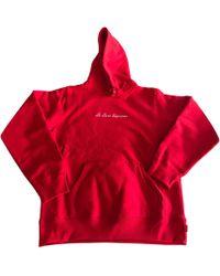 Sweat shirt style vintage avec logo en tissu ponge PUMA pour