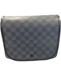 Louis Vuitton Sacoche cuir noir