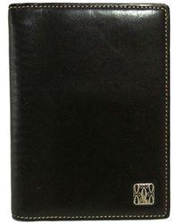 Cartier - Portefeuille cuir irisé noir - Lyst