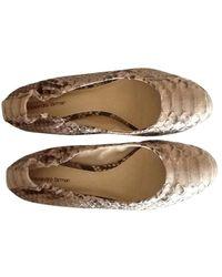 Alexandre Birman Ballerines python beige - Neutre