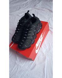 Nike - Baskets synthétique noir - Lyst