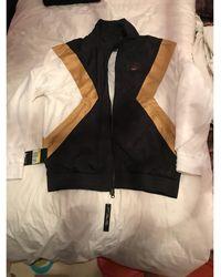 Nike - Haut de survêtement polyester noir - Lyst
