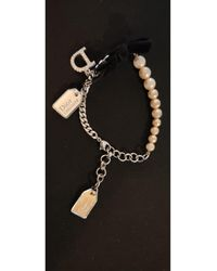 Dior - Bracelet perle beige - Lyst
