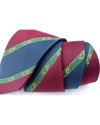 Dior Cravate soie multicolore
