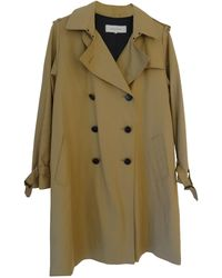 Gerard Darel - Imperméable, trench polyester beige - Lyst