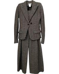 Sonia Rykiel Tailleur pantalon laine autre - Multicolore
