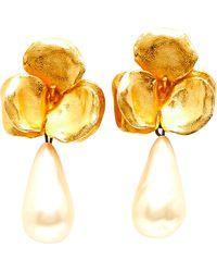 Lanvin Parure bijoux métal doré - Métallisé