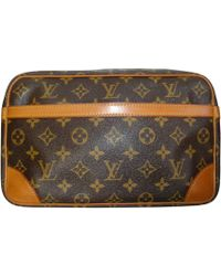 Louis Vuitton Trousse toile marron