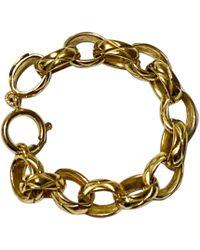 Chanel - Bracelet plaqué or doré - Lyst