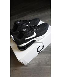Nike - Baskets coton noir - Lyst