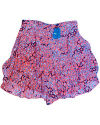 Maje Short polyester multicolore