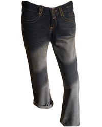 Jean Paul Gaultier - Jeans droit denim, jean noir - Lyst