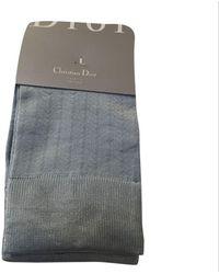 Dior Mi-chausettes acrylique bleu