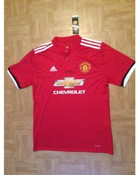 adidas - Tee-shirt polyester rouge - Lyst