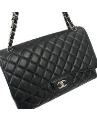 Chanel Sac à main en cuir cuir noir