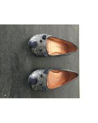 Marc Jacobs Ballerines a paillettes argent - Métallisé