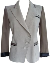 Barbara Bui Veste coton blanc