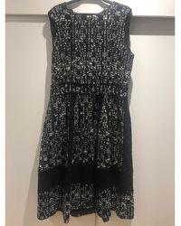 Carolina Herrera - Robe mi-longue coton, polyamide, wool autre - Lyst