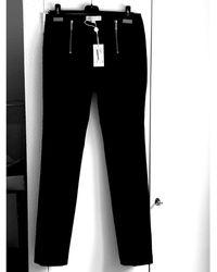 Michael Kors Pantalon droit (coton -viscose -elasthan) noir