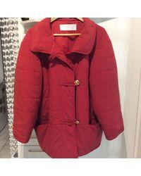 Nina Ricci Doudoune polyester rouge