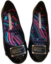 Marc Jacobs - Ballerines cuir verni noir - Lyst