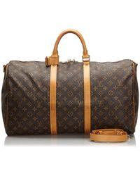 Louis Vuitton Sac XL en cuir monogram canvas autre - Marron