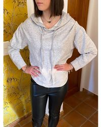 Sandro Sweat coton gris