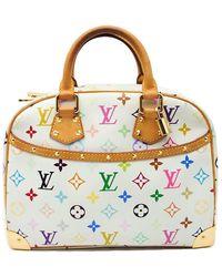 Louis Vuitton Sac à main en tissu toile multicolore